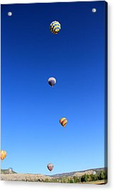 Lining The Sky Acrylic Print