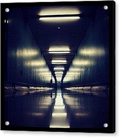 Link Tunnel Acrylic Print