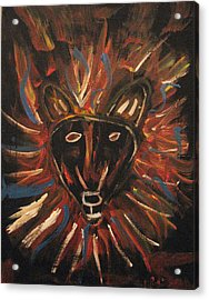 Lion Of The Tribe Of Judea Acrylic Print by Kristen Pagliaro