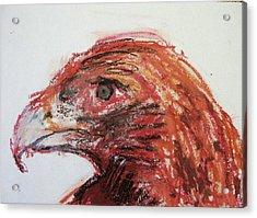 Lipstick Eagle Acrylic Print