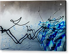 Liquid Motion Acrylic Print by Tami Rounsaville