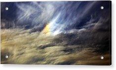 Liquid Sky Acrylic Print by Sandro Rossi
