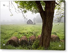 Little Barn Acrylic Print