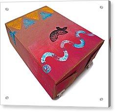 Little Big Horn Box Acrylic Print by Charles Stuart