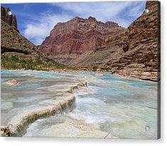Little Colorado Terraces Acrylic Print