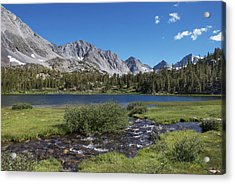 Little Lakes Valley Acrylic Print