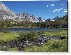 Little Lakes Valley Acrylic Print