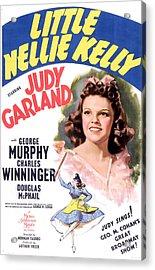 Little Nellie Kelly, Judy Garland, 1940 Acrylic Print by Everett