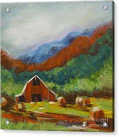 Little Red Barn Acrylic Print