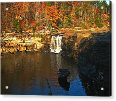 Little River Canyon 6412 Acrylic Print by J D  Whaley