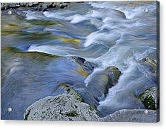 Little River Great Smoky Mountains Acrylic Print by Dean Pennala
