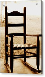 Little Rocking Chair Acrylic Print by Hannah Miller