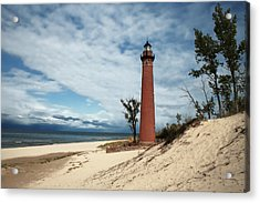 Little Sable Point Light Acrylic Print