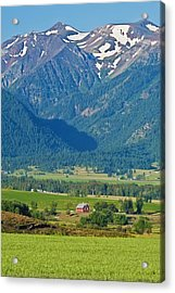 Little Switzerland  Acrylic Print by Alvin Kroon