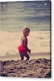 Little Tutu Acrylic Print by Laurie Search