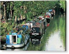 Little Venice, London, England Acrylic Print by Keith Mcgregor