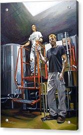 Live Oak Brewing Company Austin Texas Acrylic Print by Gregg Hinlicky