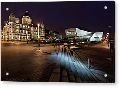 Liverpool - The Old And The New  Acrylic Print