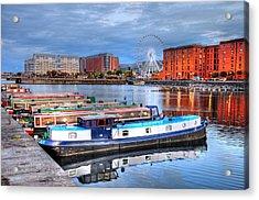 Liverpool England Acrylic Print