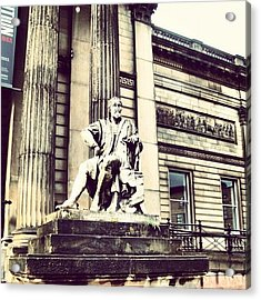 #liverpool #museum #museums #guy #stons Acrylic Print