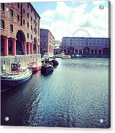 #liverpool #uk #england #british Acrylic Print