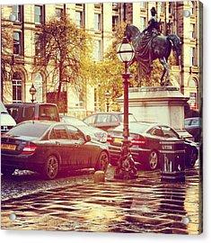 #liverpool #uk #england #museum #cars Acrylic Print