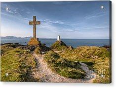 Llanddwyn Island Acrylic Print by Adrian Evans