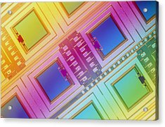 Lm Of Micromechanical Accelerometers Acrylic Print by Volker Steger