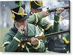 Loading Musket Acrylic Print by JT Lewis