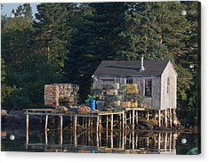 Lobster Shack Prospect Harbor Acrylic Print