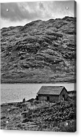 Loch Arklet Boathouse Acrylic Print by Chris Thaxter