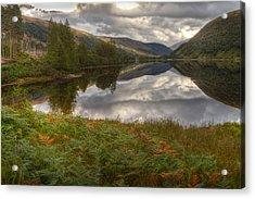 Loch Dughaill Scotland Uk Acrylic Print