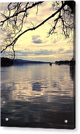 Loch Lommond Acrylic Print by Chris Boulton