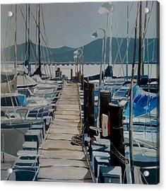 Loch Lomond Marina Acrylic Print