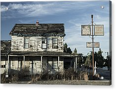 Locke House Acrylic Print by Dee  Savage