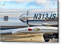 Lockheed Jet Star Engine Acrylic Print