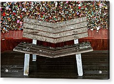 Acrylic Print featuring the photograph Locks Of Love 2 by Kume Bryant
