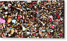 Acrylic Print featuring the photograph Locks Of Love by Kume Bryant