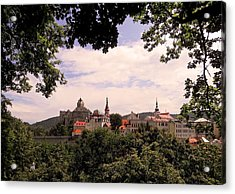 Acrylic Print featuring the photograph Loket - Czech Republic by Juergen Weiss