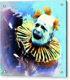 Lon Chaney Acrylic Print by Arne Hansen