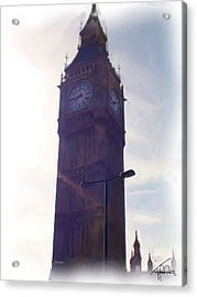 London Big Ben Acrylic Print by Thomas Frias