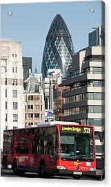 London Bridge Acrylic Print by Johnnie Pakington