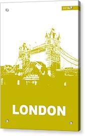 London Bridge Poster Acrylic Print by Naxart Studio