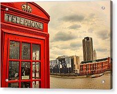 London Calling Acrylic Print by Jasna Buncic