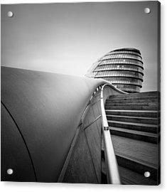 London City Hall Acrylic Print by Nina Papiorek