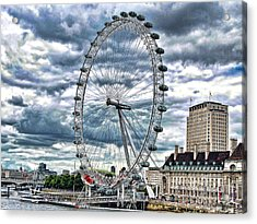 London Eye Acrylic Print by Graham Taylor