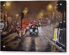 London Fog 1 Acrylic Print by Paul Mitchell