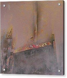 London Fog Acrylic Print by Ralph Levesque