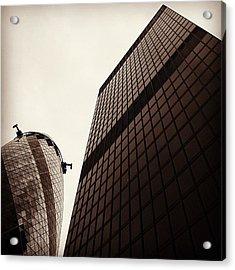 #london #gherkin#building #architecture Acrylic Print