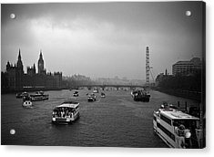 Acrylic Print featuring the photograph London Jubilee 2012 by Lenny Carter